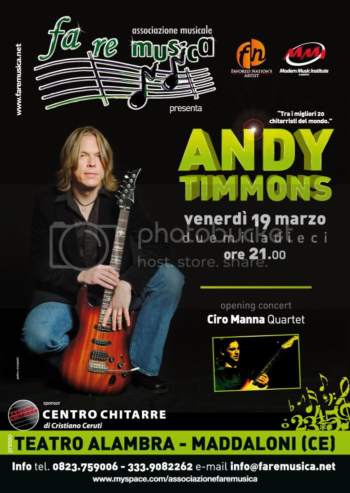 Andy Timmons live teatro Alambra