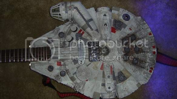 Millennium Falcon Guitar | Travis Stevens