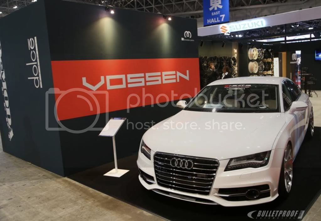 Tokyo Auto Salon 2013 -Vossen Audi A7