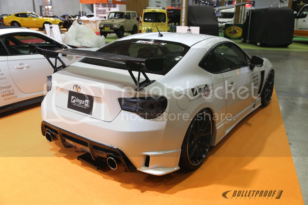 Tokyo Auto Salon 2013 INGS+1 FT86 FRS BRZ