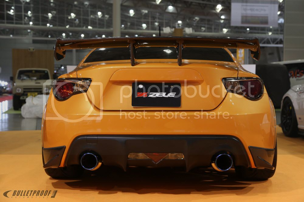 Tokyo Auto Salon 2013 - Zele International 86 FRS