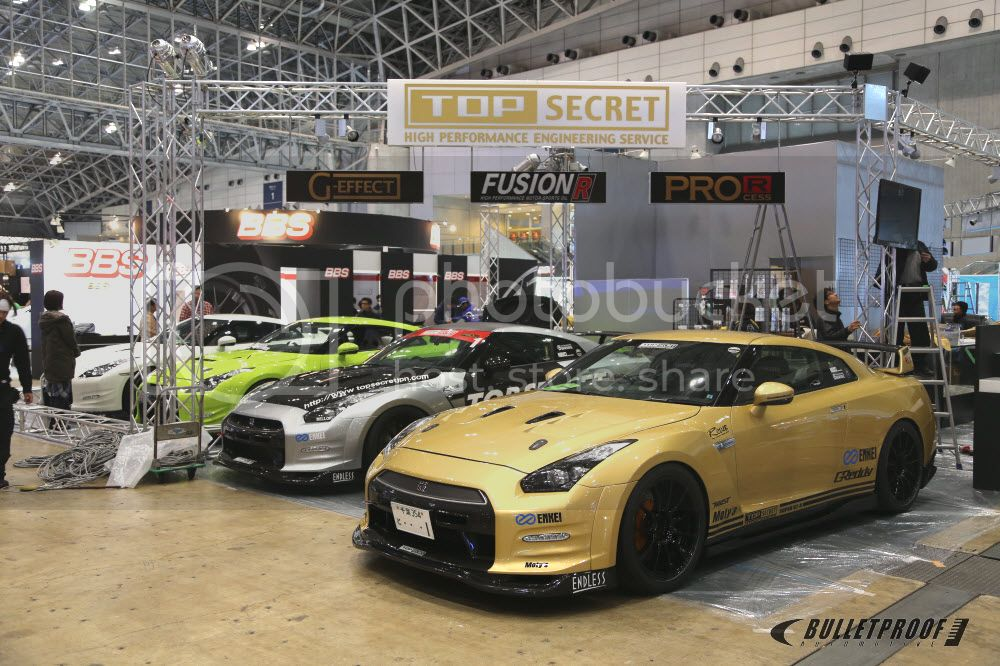 Tokyo Auto Salon 2013 - TOP SECRET
