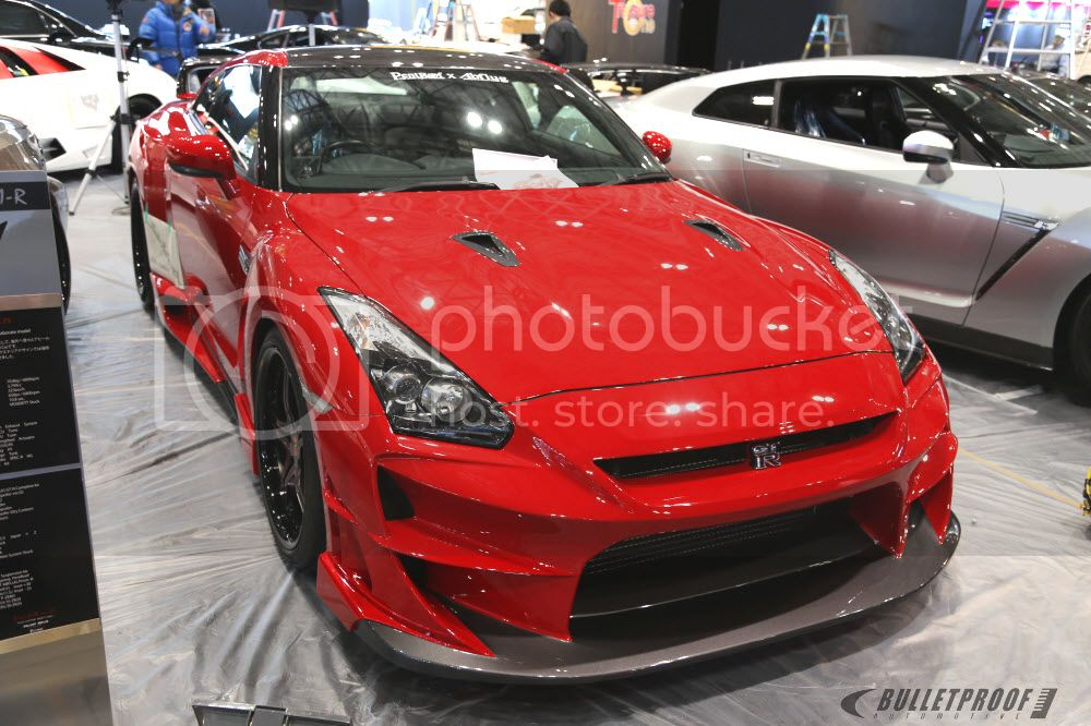 Tokyo Auto Salon 2013 - Ab Flug R35 GTR
