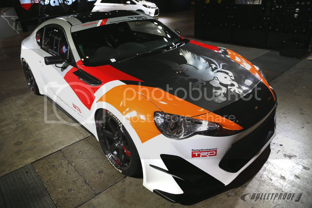 Tokyo Auto Salon TRD FT86 FRS