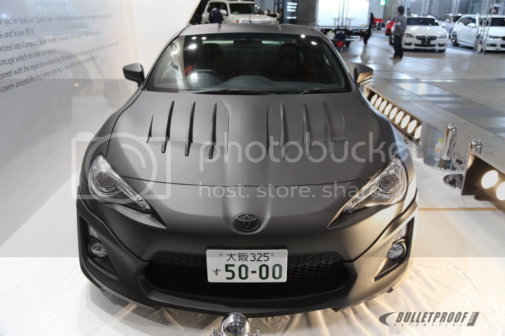 Wald International Tokyo Auto Salon FR-S FT86 