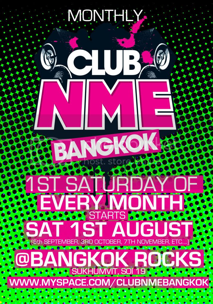 Club NME BKK monthly 1 front